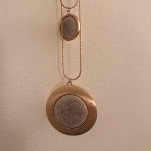 Purple/Gold Necklace